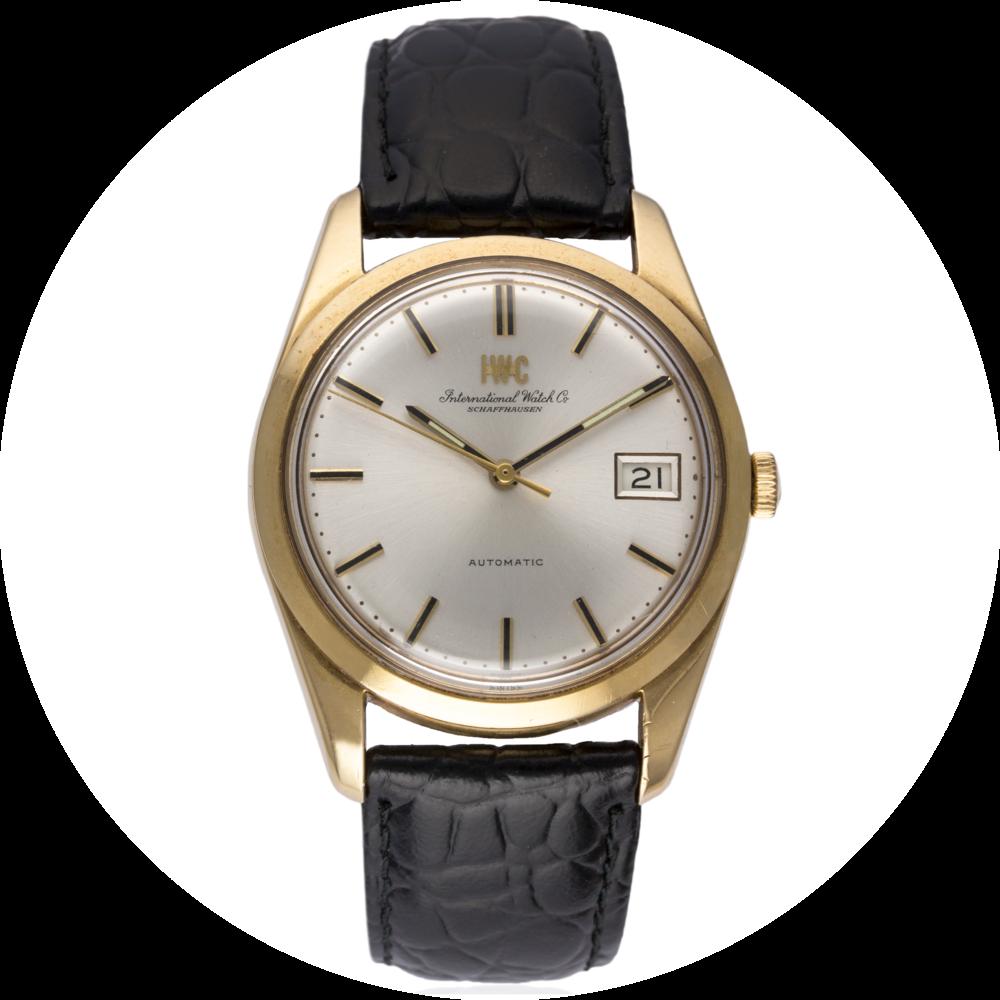 Lot 175 - IWC 18kt Gold Dress Watch