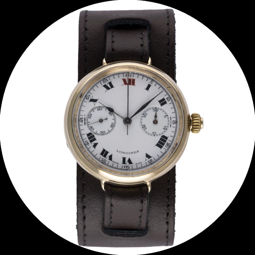 Lot 189 - Longines Monopusher Chronograph.
