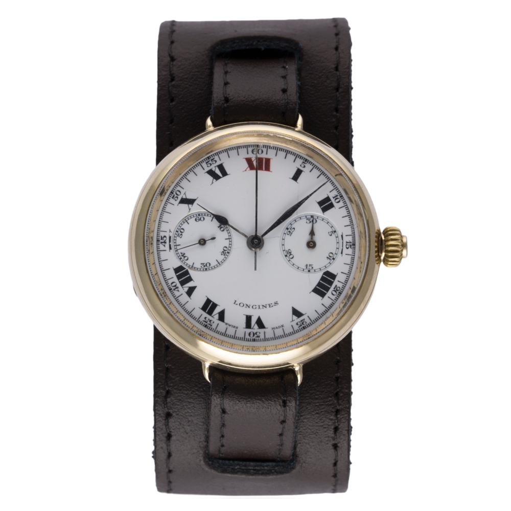 Lot 189 - Longines Monopusher Chronograph