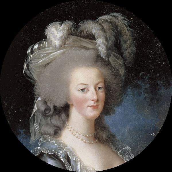 A pre-guillotine Marie-Antoinette