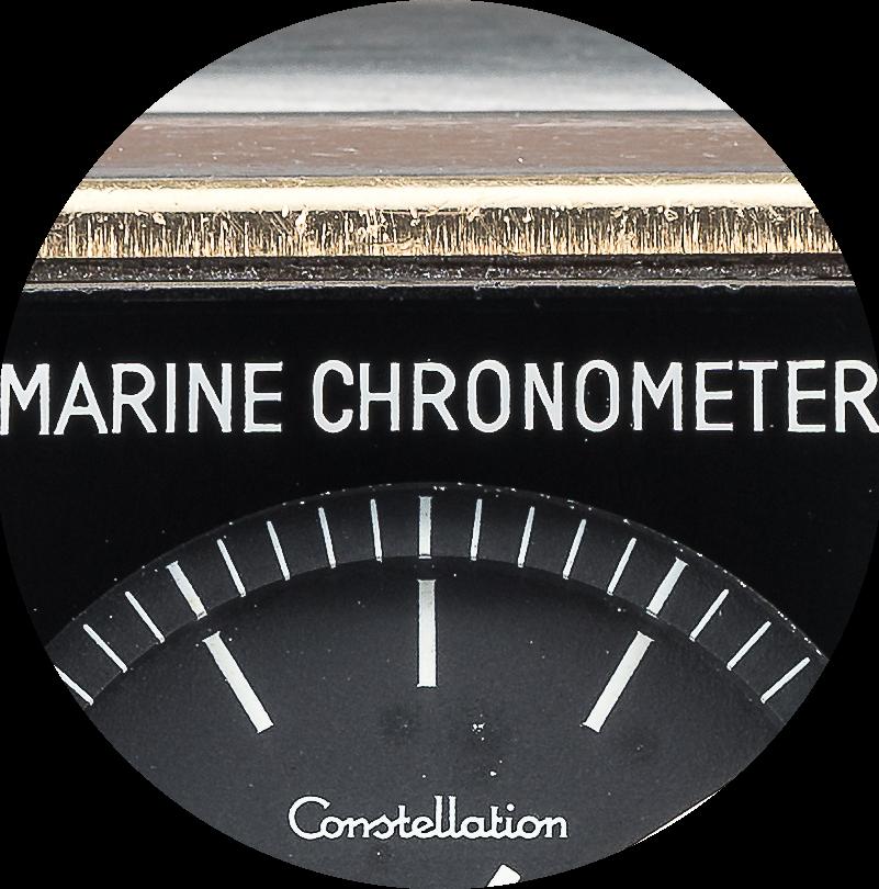 Omega Marine Chronometer Marine Chronometer close up.png