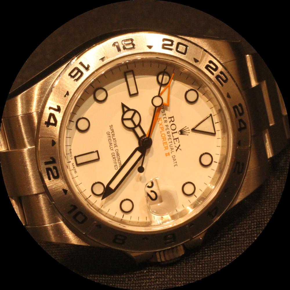 Rolex Explorer II dial circle.png