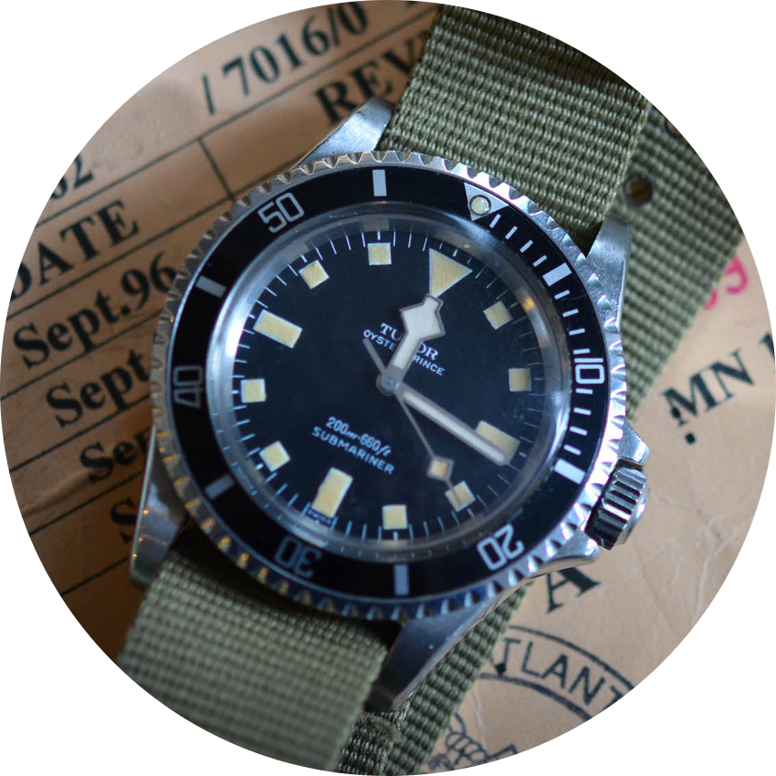 Tudor Submariner Ref. 7016 with Snowflake hands