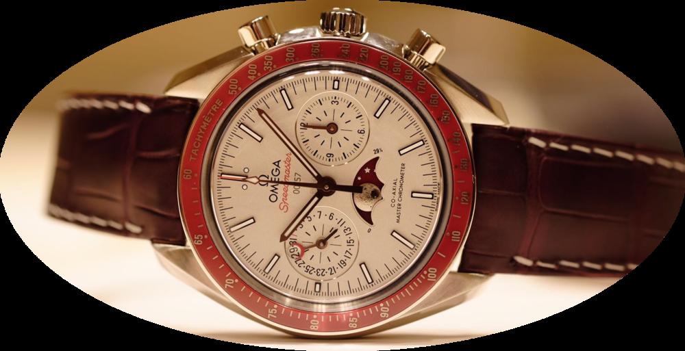 The Omega Speedmaster Master Chronometer Moonphase. Image courtesy of Kristian Haagen.