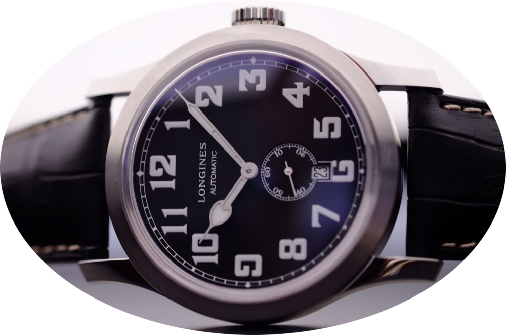 A Longines Heritage model that is approachable to casual buyers. Image courtesy of Kristian Haagen.