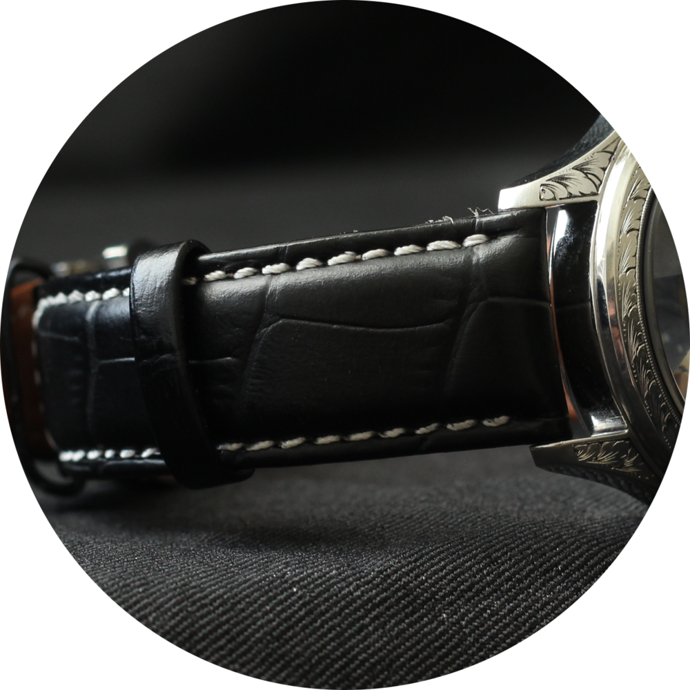 Field watch leather strap circle.png