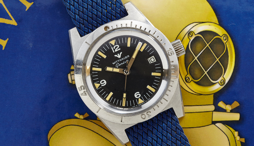 A beautiful Wittnauer Diver that was on sale last year at analog/shift.
