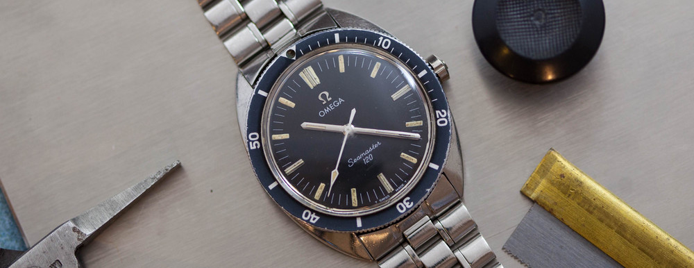 The Omega Seamaster 120. Image courtesy of ThoseWatchGuys