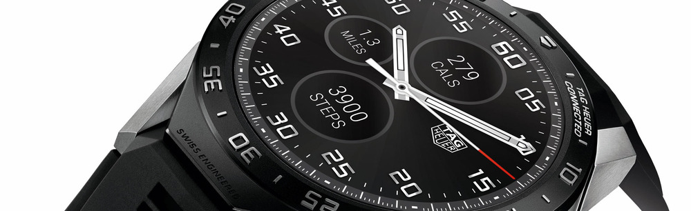TAG Heuer Connected Watch. Image courtesy of TAG Heuer.