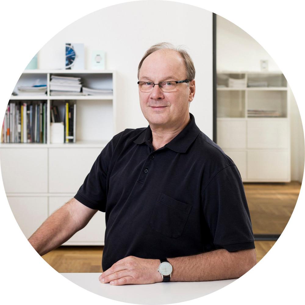 NOMOS Founder Roland Schwertner. Photo courtesy of NOMOS