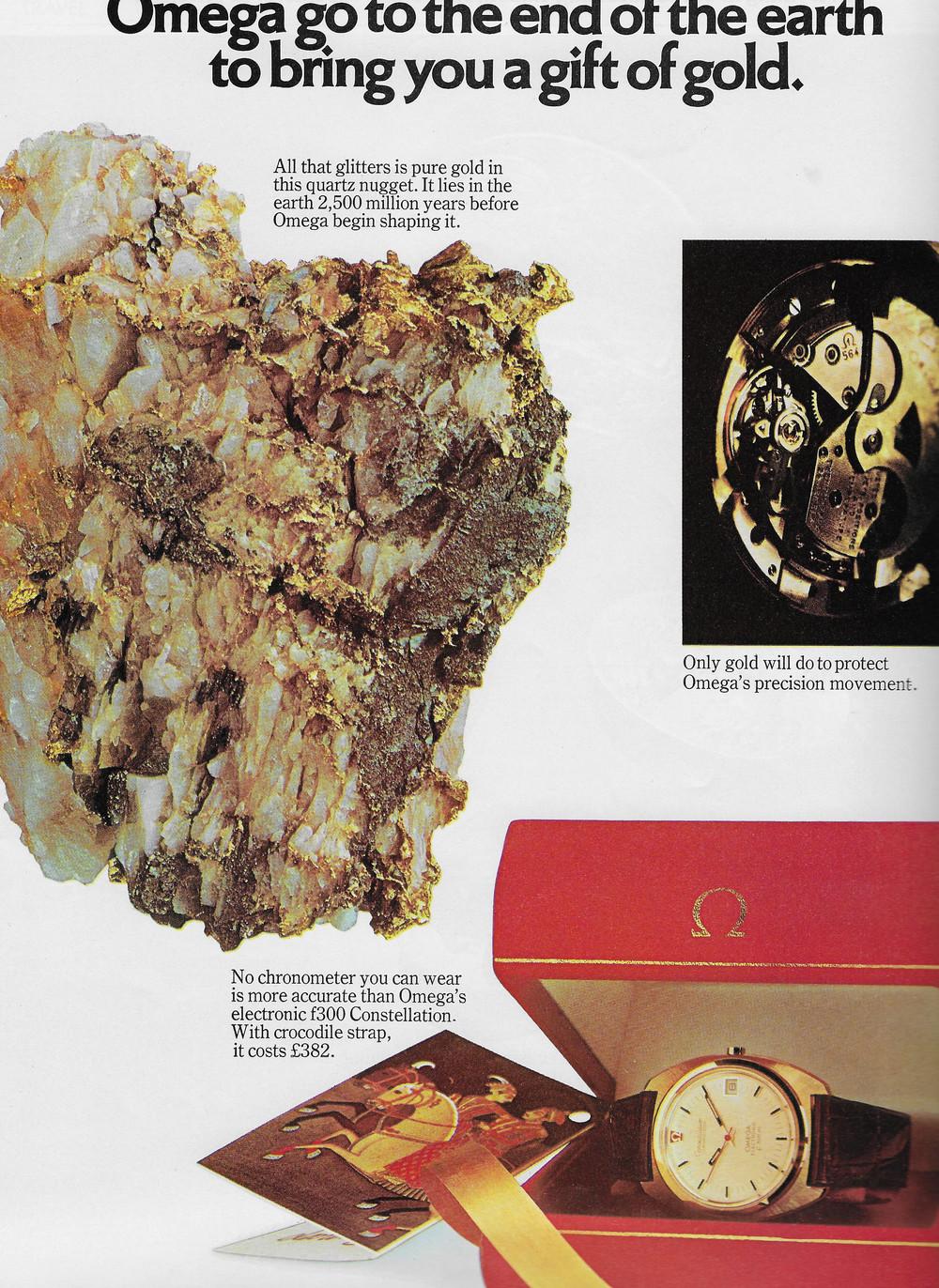 Vintage Omega Advert 1973 3.JPG