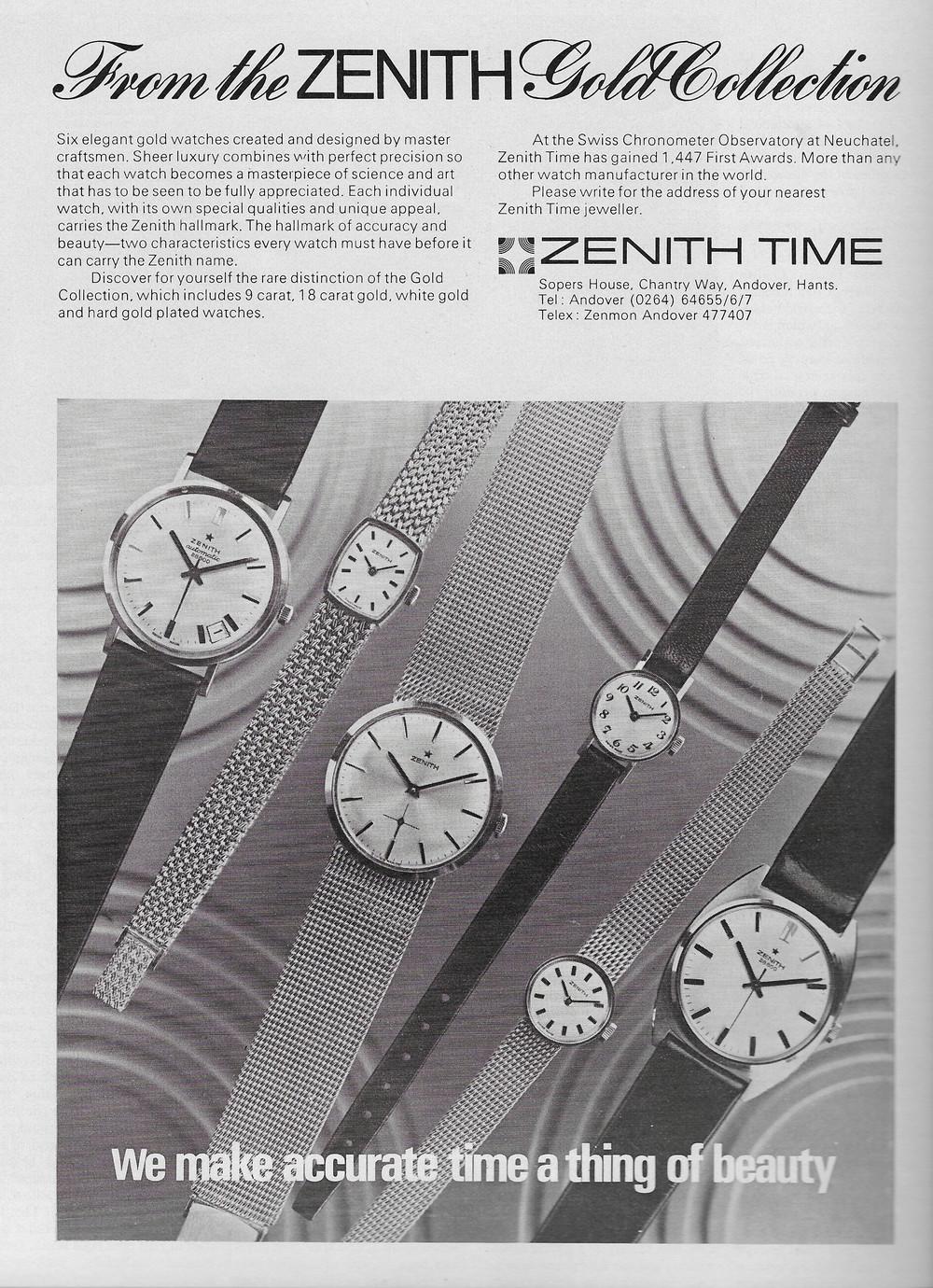 Vintage Zenith Advert 1973.JPG
