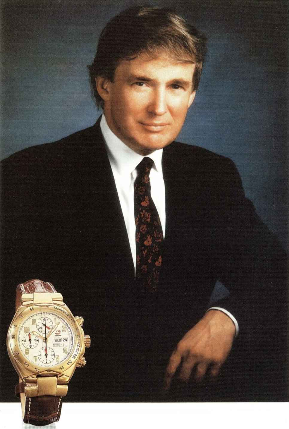 ... Lackluster Watch Collection of Donald Trump — Timepiece Chronicle