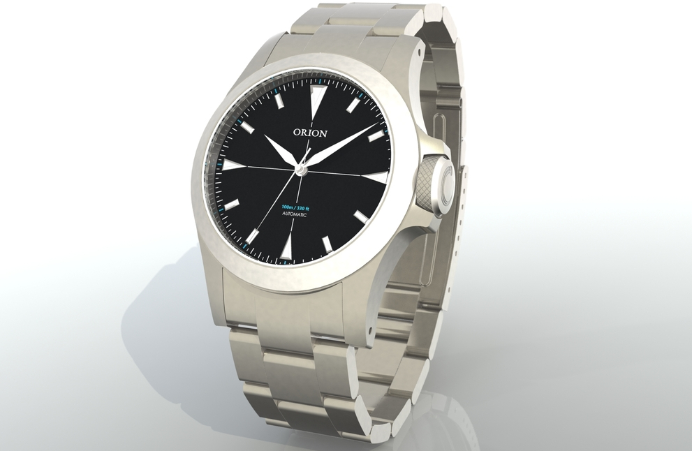 Concept CAD design of the Orion by Watches by Nick.