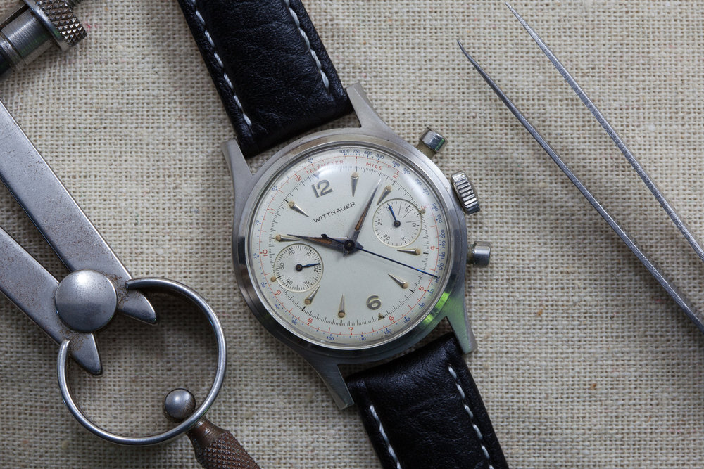 I'll use any excuse to use a photograph of a vintage wittnauer. Now available at thosewatchguys.com