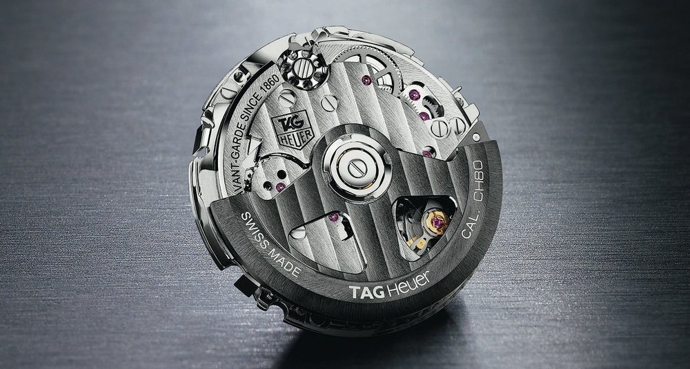 The TAG Heuer CH80 movement that would become the Heuer-03.