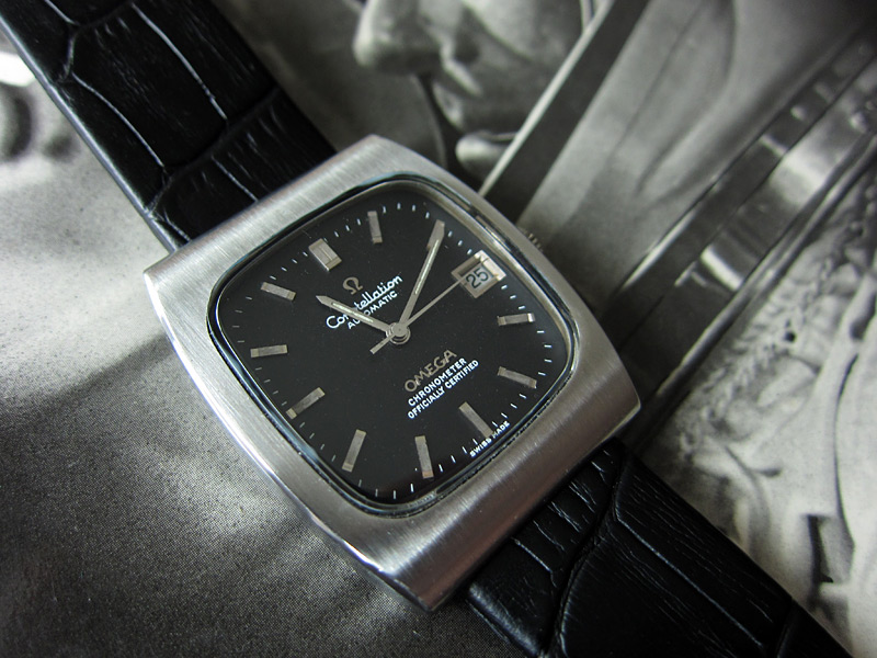 Omega Constellation Ref. 168.0044. Not my father's exact watch but the same reference.