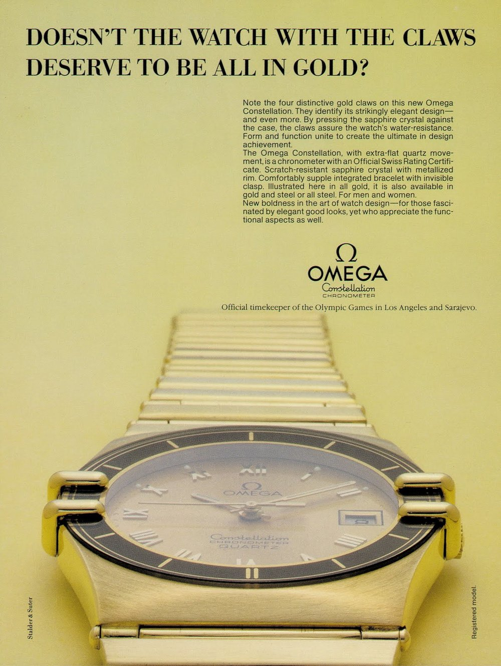 Omega Constellation Manhattan