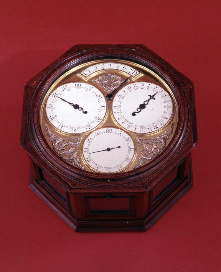 Thomas Mudge's Spring Driven Regulator Clock