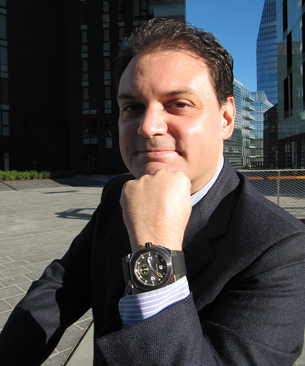 The current owner of Waltham Watch Company S.A., Antonie DiDenedetto