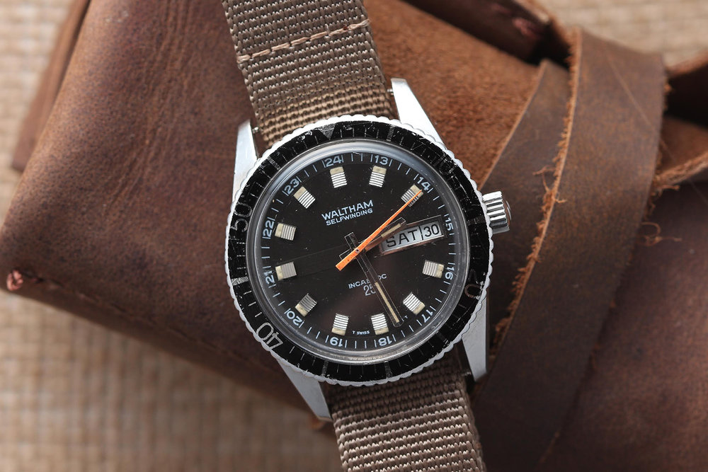 Waltham wristwatch. Photo courtesy of Theo & Harris