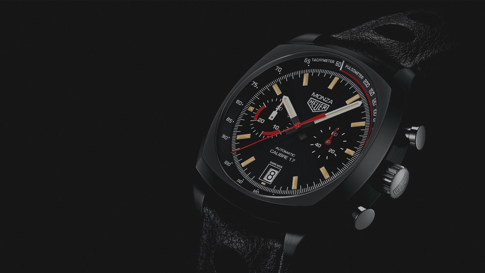 More watches like this please. Photo courtesy of TAG Heuer.