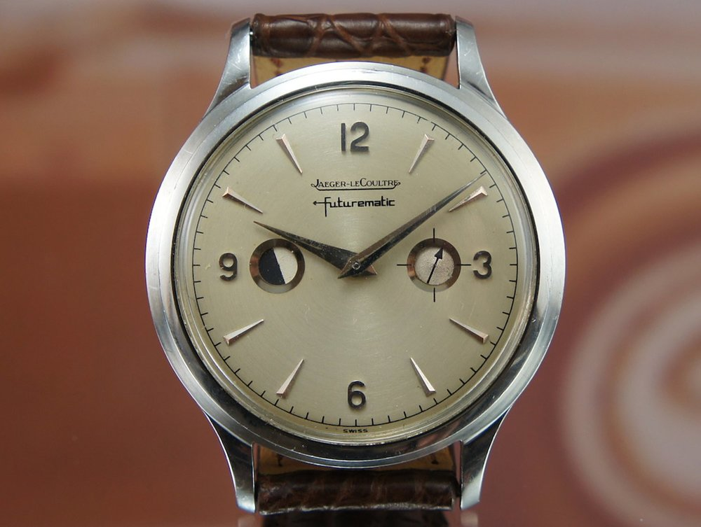 Jaeger-LeCoultre Futurematic with 'porthole' dial.