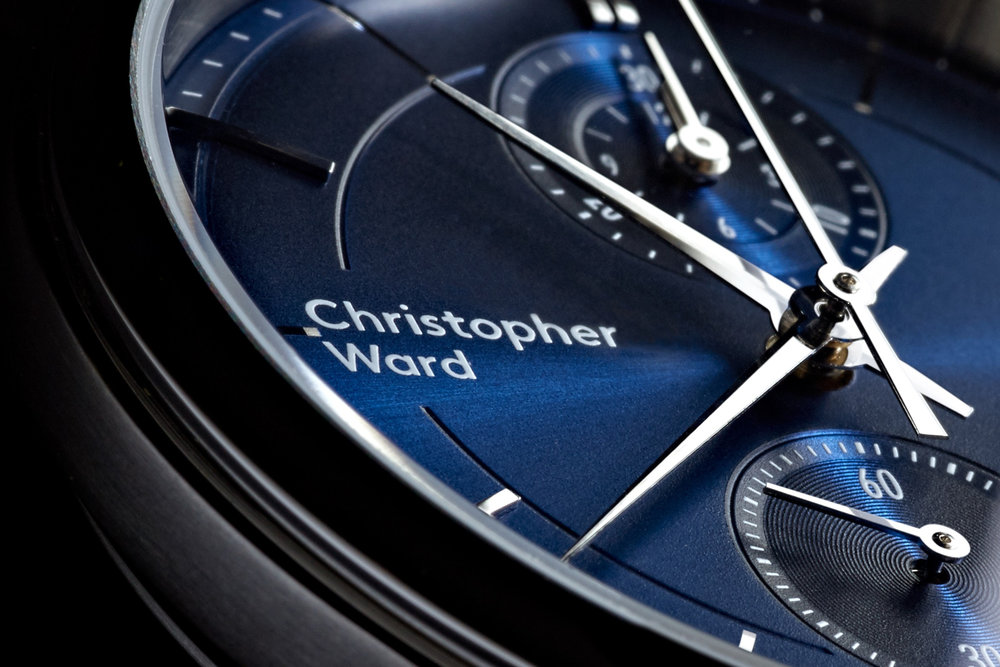 The new Christopher C3  Malvern Chronograph. Photo courtesy of Christopher Ward.
