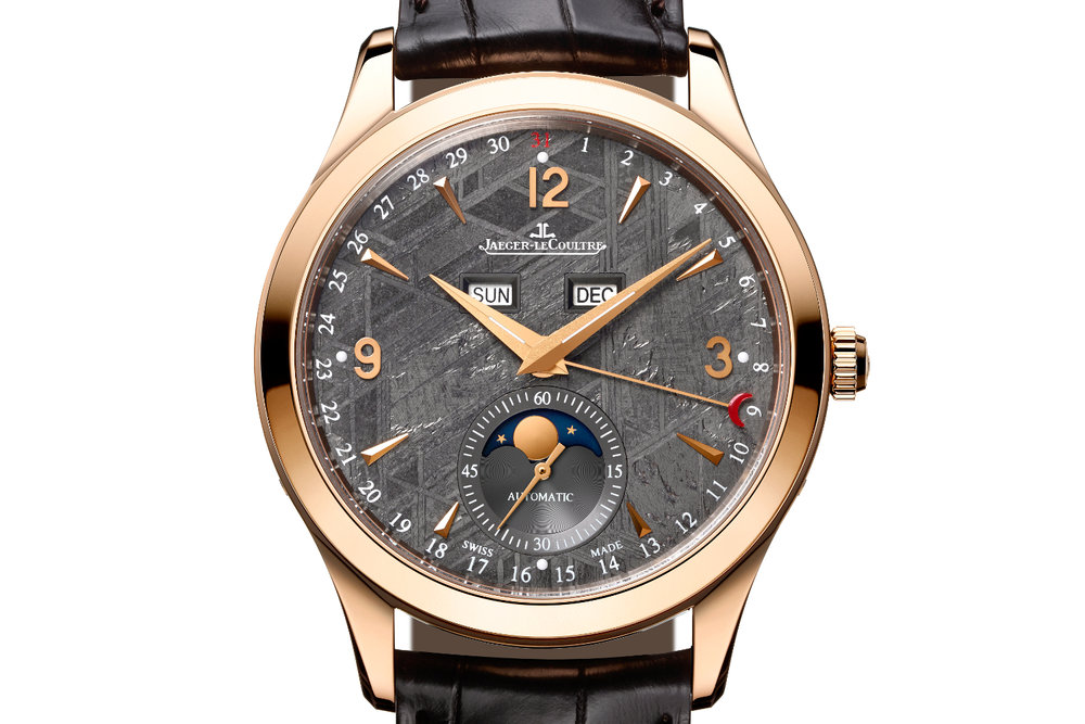 The Jaeger-LeCoultre Master Calendar with Meteorite dial. Photo courtesy of Jaeger-LeCoultre.