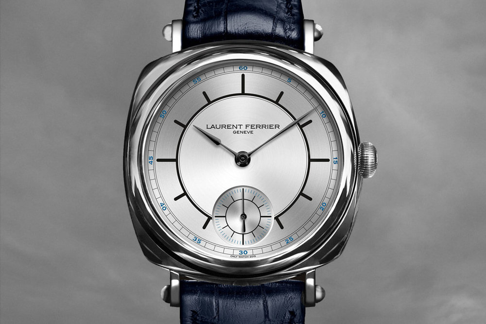 The Laurent Ferrier Galet Square with Sector Dial for Only Watch 2015. Photo courtesy of Laurent Ferrier.