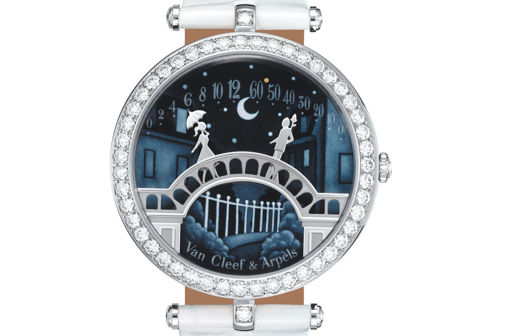 The Van Cleef & Arpels Lady Arpels Pont des Amoureux. Photo courtesy of Van Cleef & Arpels.