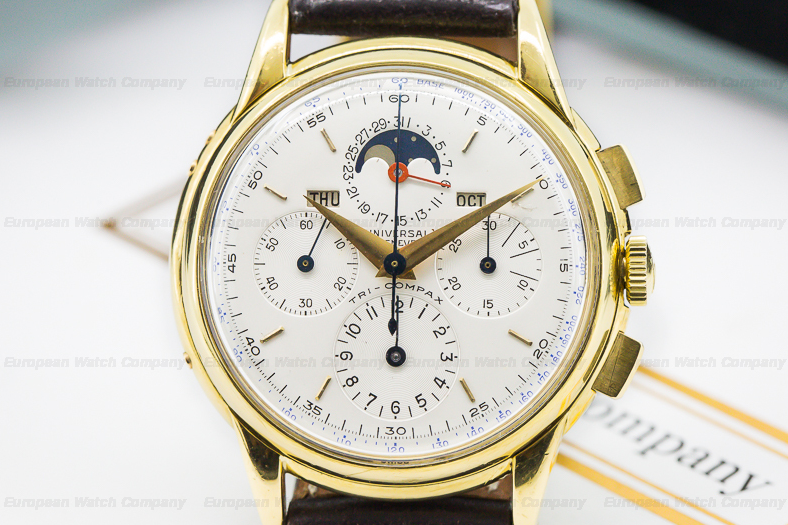 Universal Geneve Tri-Compax Ref. 12268. Photo courtesy of European Watch Company