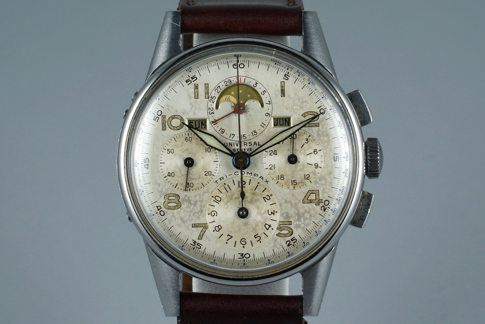 Universal Geneve Tri-Compax Ref. 22258. Photo courtesy of H.Q. Milton