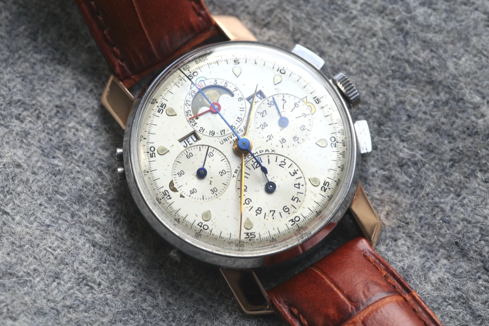 Universal Geneve Tri-Compax Ref. 22261. Photo courtesy of A Collected Man