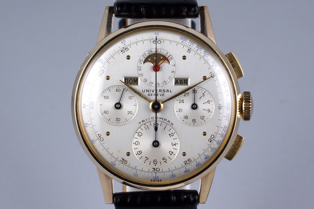 Universal Geneve Tri-Compax Ref. 42406. Photo courtesy of H.Q. Milton