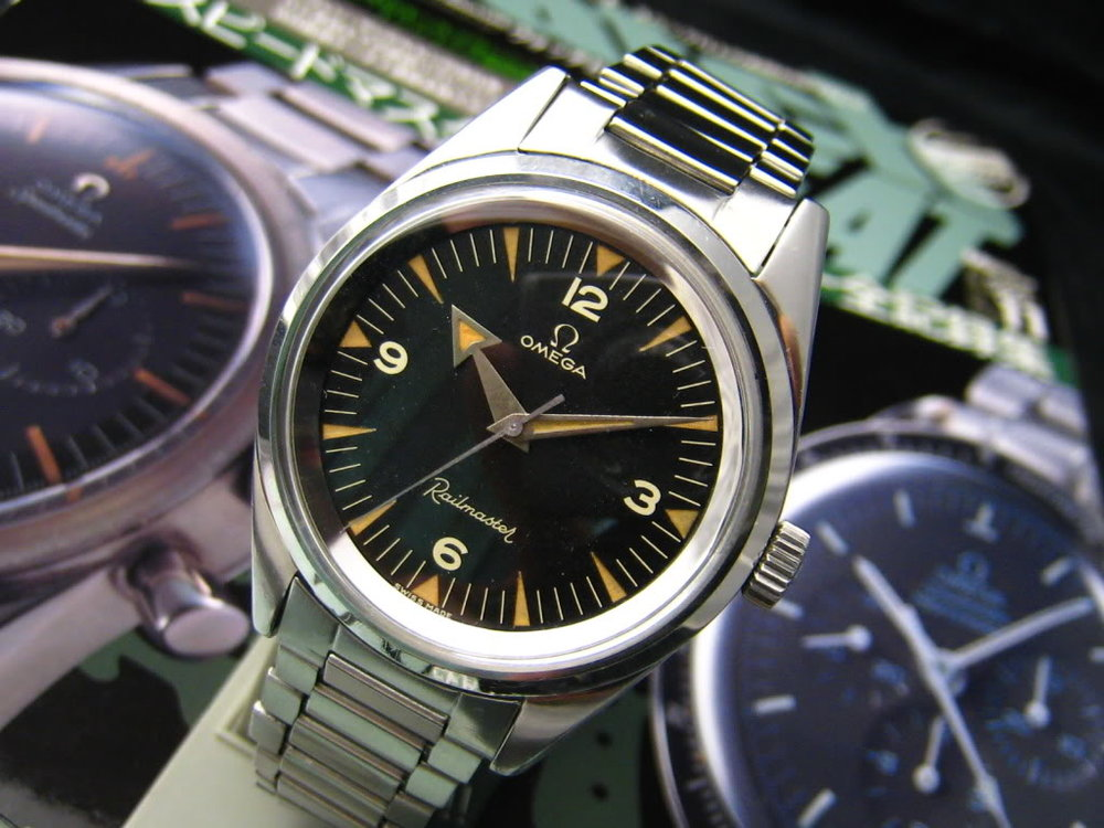 Omega Railmaster: Photo Courtesy of Jack Wong, Chronocentric user.