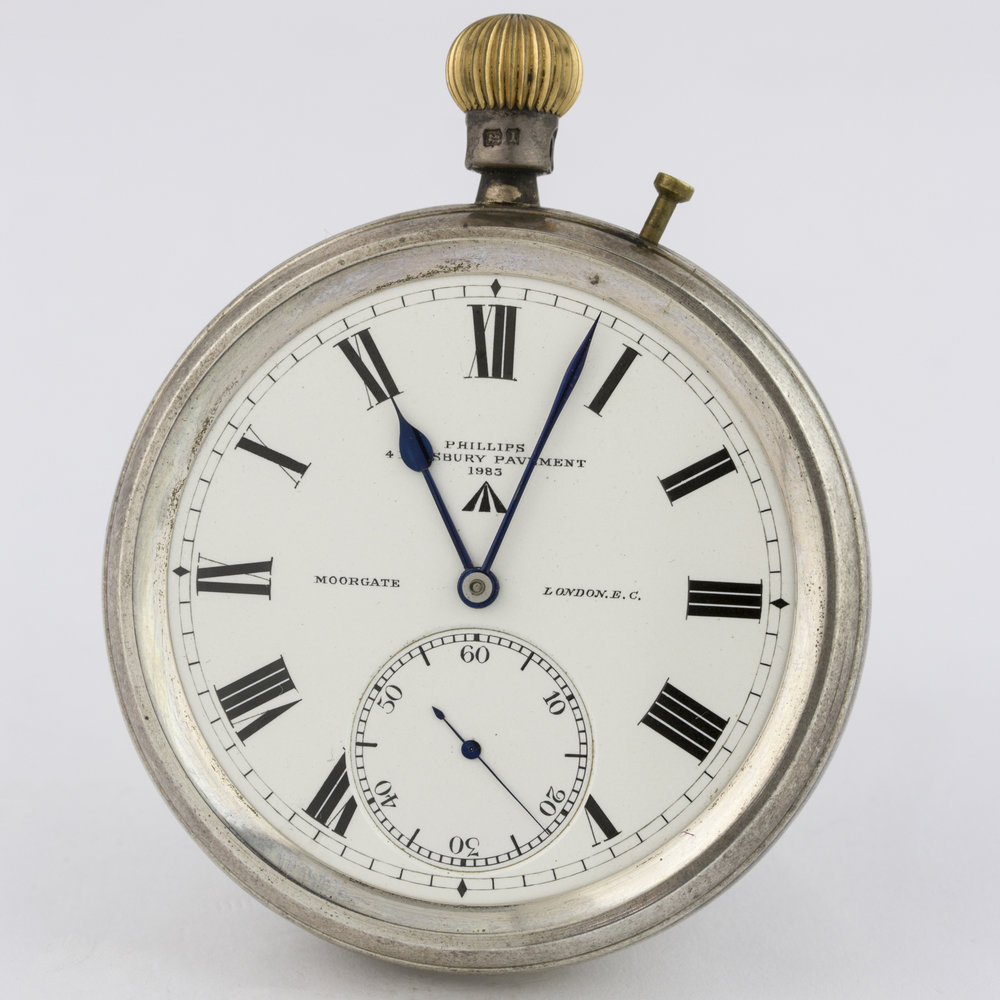 A Marine Chronometer issues to the British Royal Navy. Photo Courtesy of Watches of Knightsbridge.
