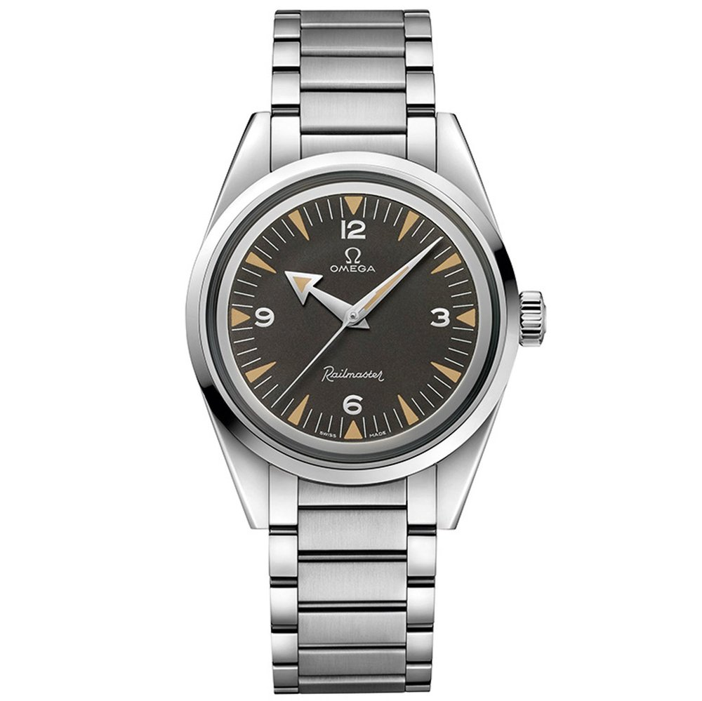 Omega Railmaster 60th Anniversary. Photo courtesy of Omega Watches.