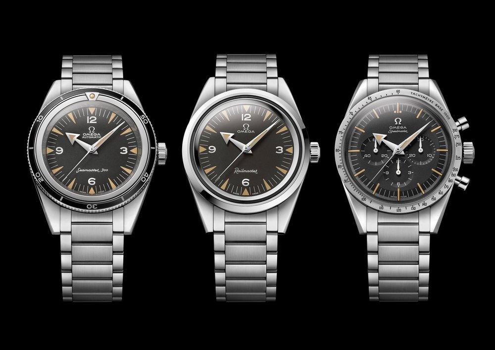 The Trilogy Set. Photo courtesy of Omega Watches.