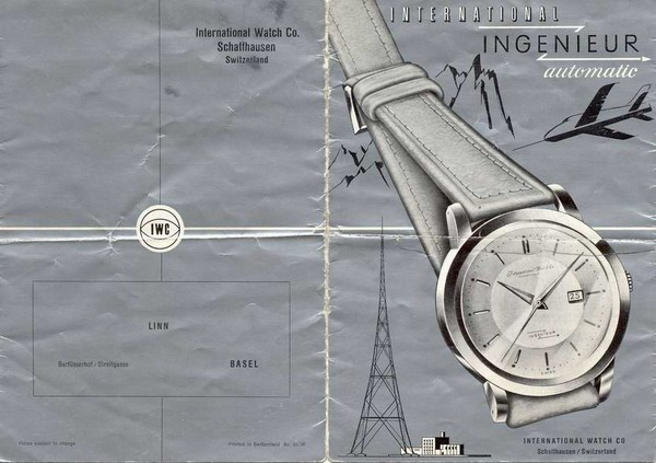 IWC Ingeniuer cataloge Image