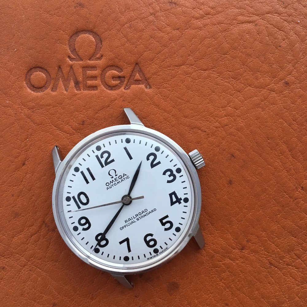 Omega Railmaster Railroad Official Standard Edition. Photo courtesy of theimitator, Watchuseek user.