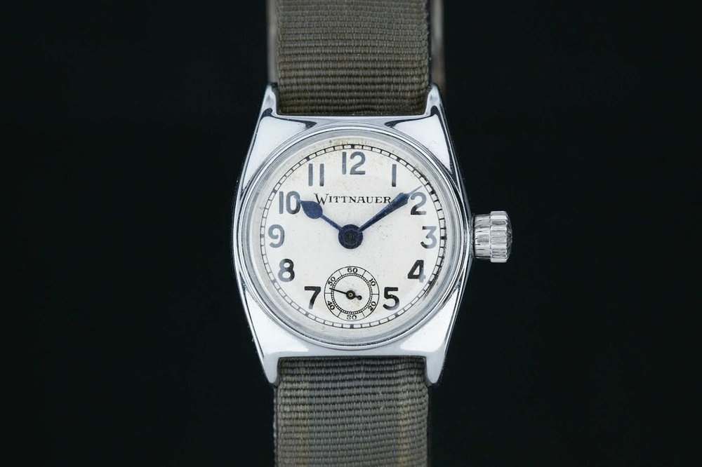 THE WITTNAUER ALL-PROOF. PHOTO COURTESY OF ANALOG/SHIFT AND ATOM MOORE.
