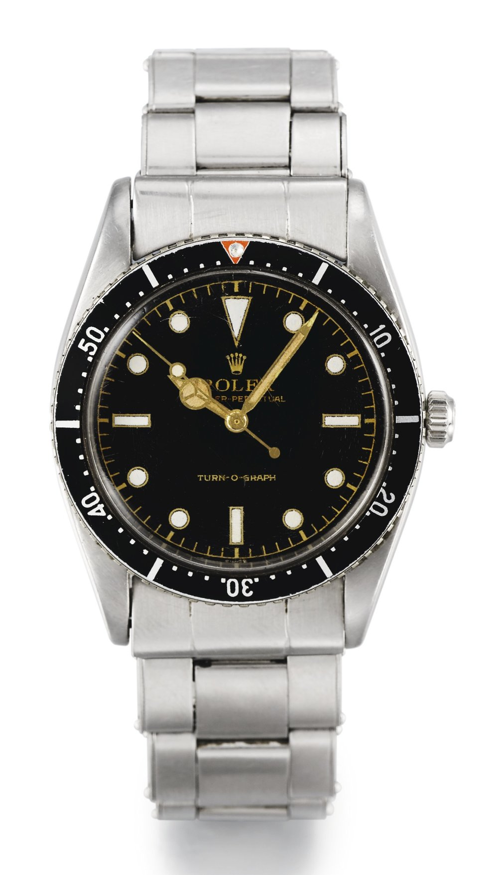 Rolex Turn-o-graph Ref. 6202. Photo courtesy of Sotheby's