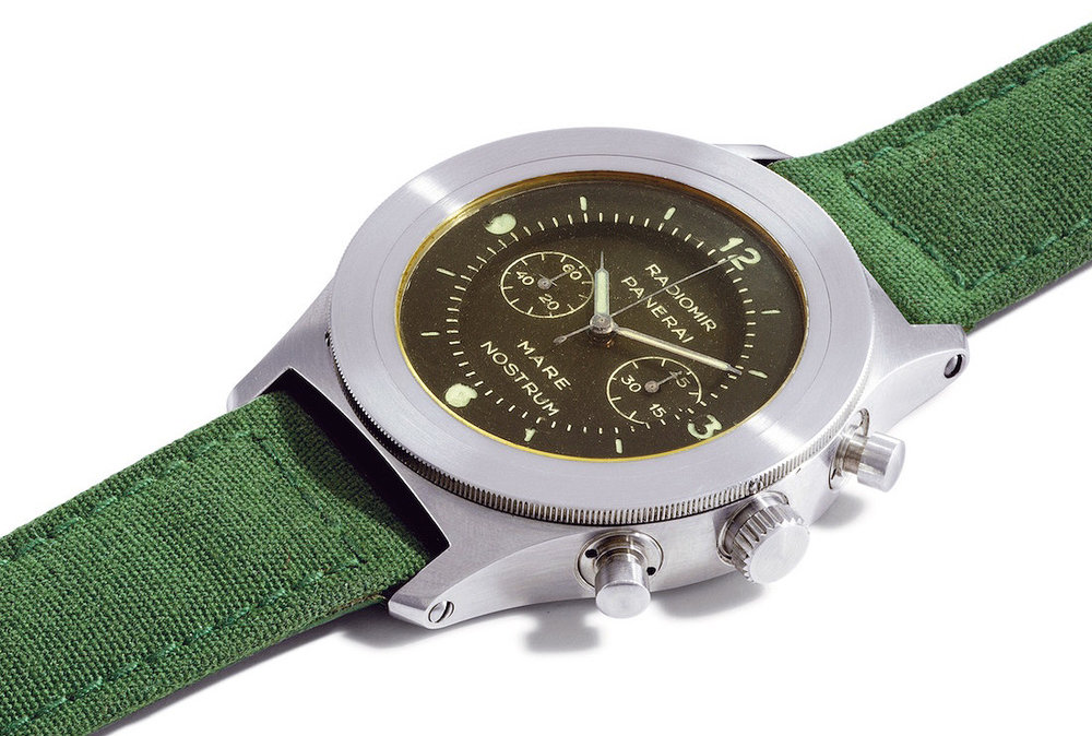 A Panerai Mare Nostrum that went up for sale in 2005. Photo courtesy of Christie's.