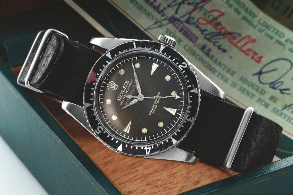 Rolex Milgauss Ref. 6541,circa 1956. Photo:Sotheby's.