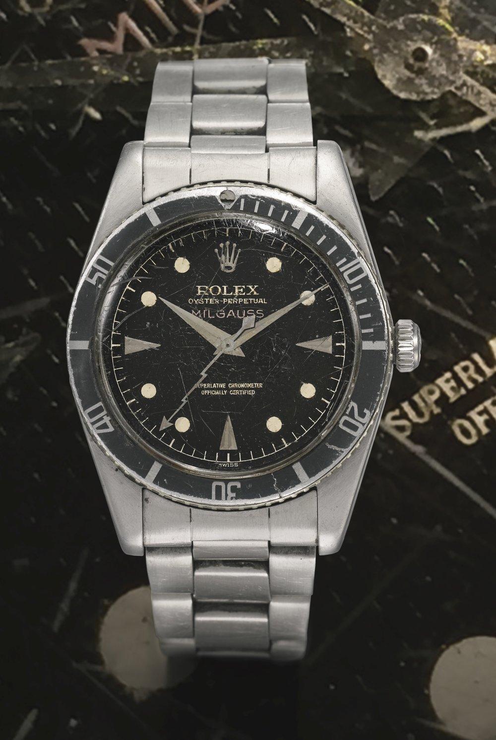 Rolex Milgauss Ref. 6541, circa 1958