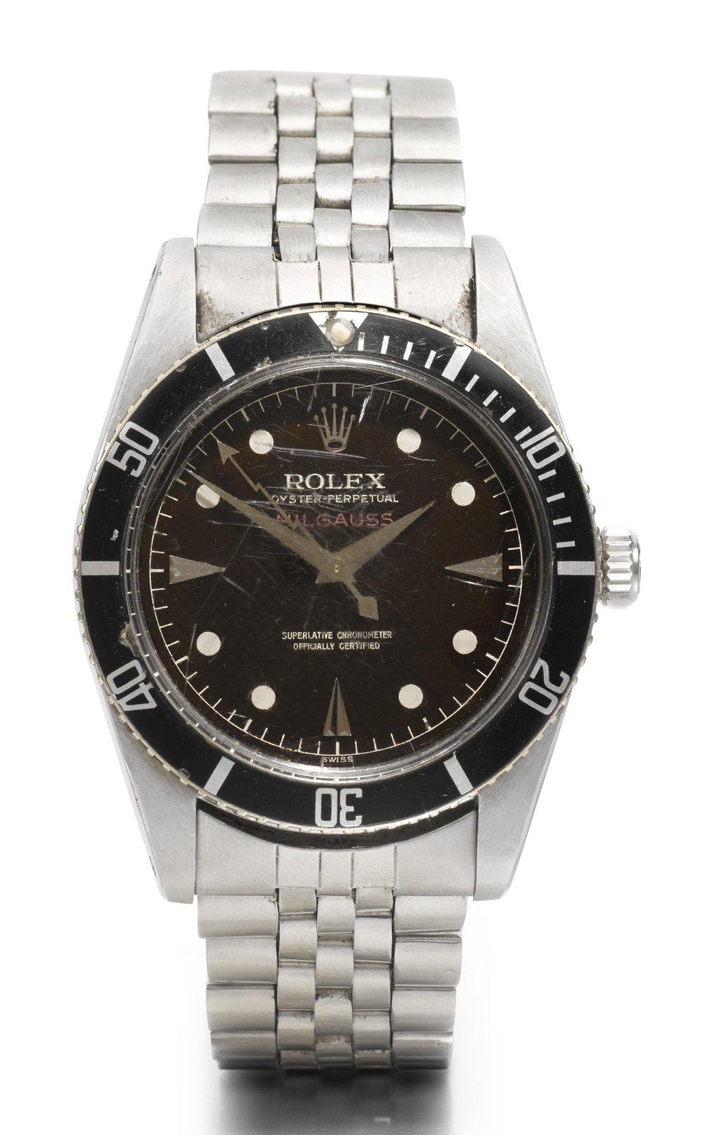 Rolex Milgauss Ref. 6451, circa 1958.