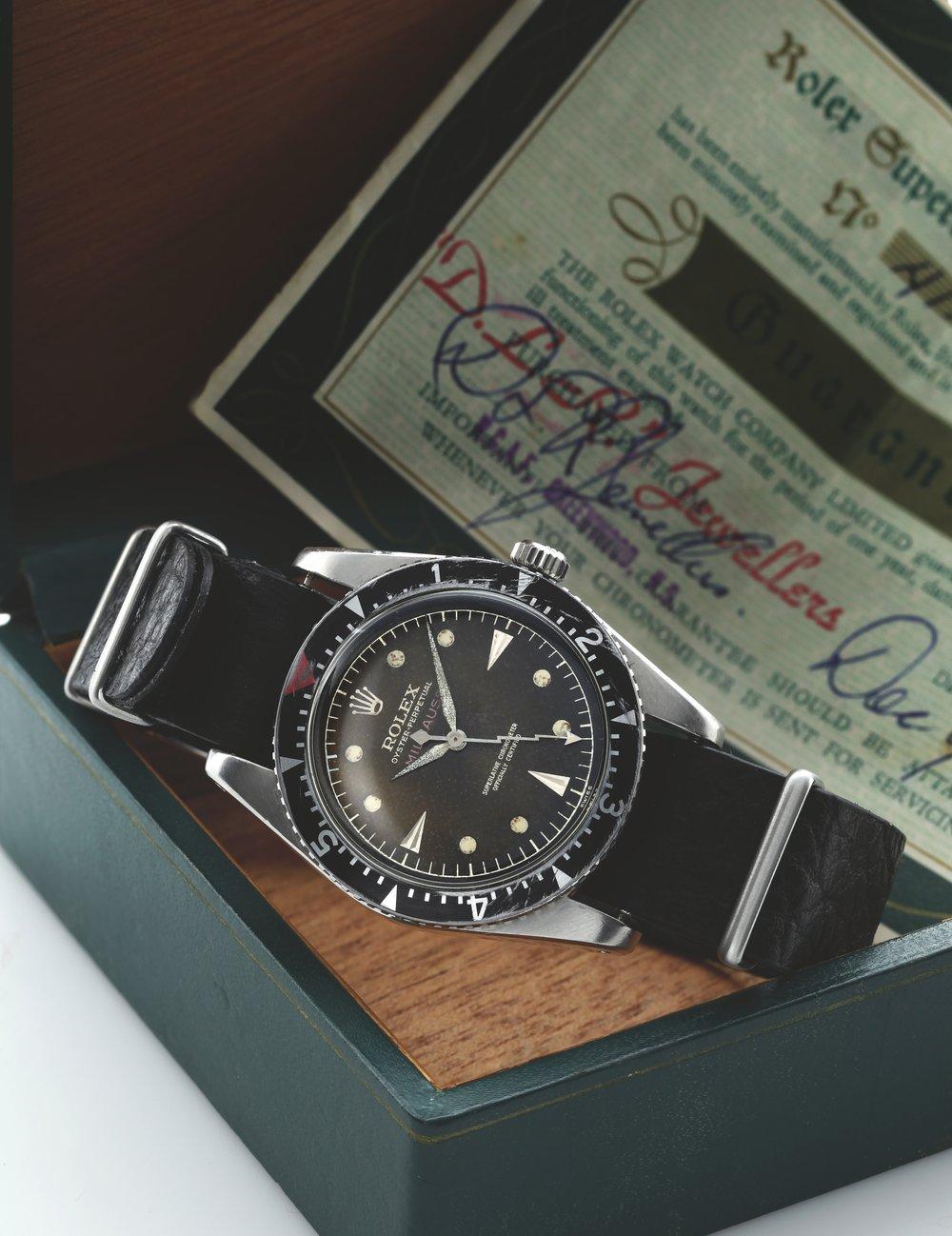Rolex Milgauss Ref. 6541 circa 1956