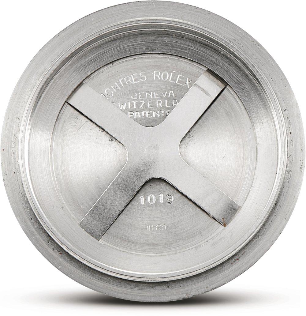 Rolex Milgauss Ref. 6019 caseback