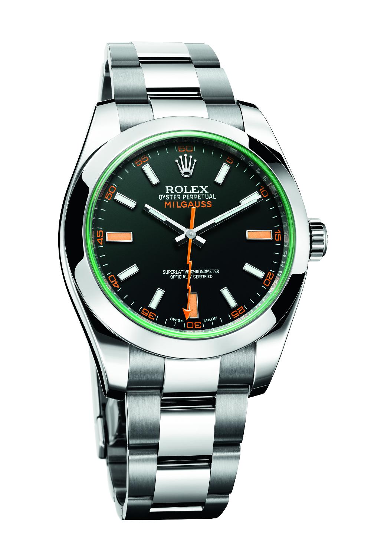 Rolex Milgauss Ref. 116400. Photo courtesy of Rolex.